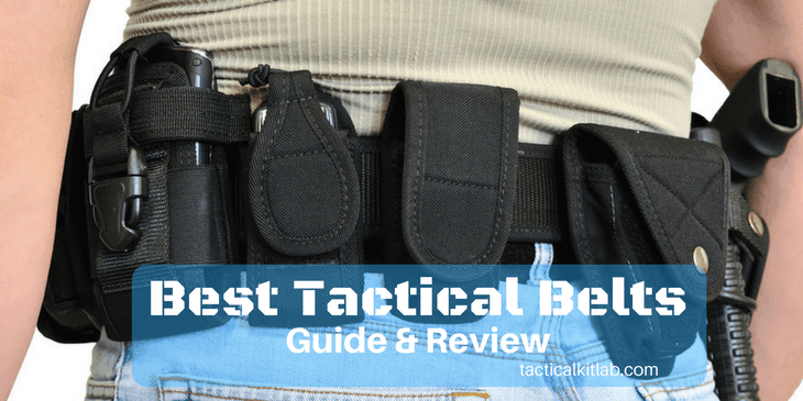 Best Tactical Belt Reviews in 2018 (Ultimate Buying Guide)