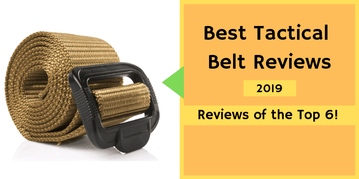 Best Tactical Belt Reviews in 2019 (Ultimate Buying Guide)