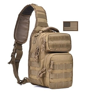 best tactical single sling backpack